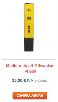 Medidor de ph Milwaukee PH 600