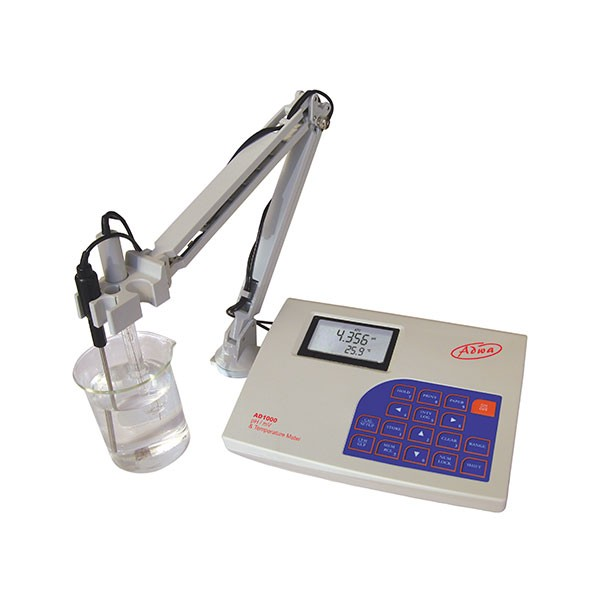 Medidor pH sobremesa ADWA