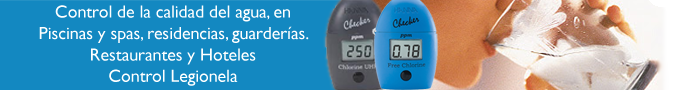 Medidores de Cloro/ORP