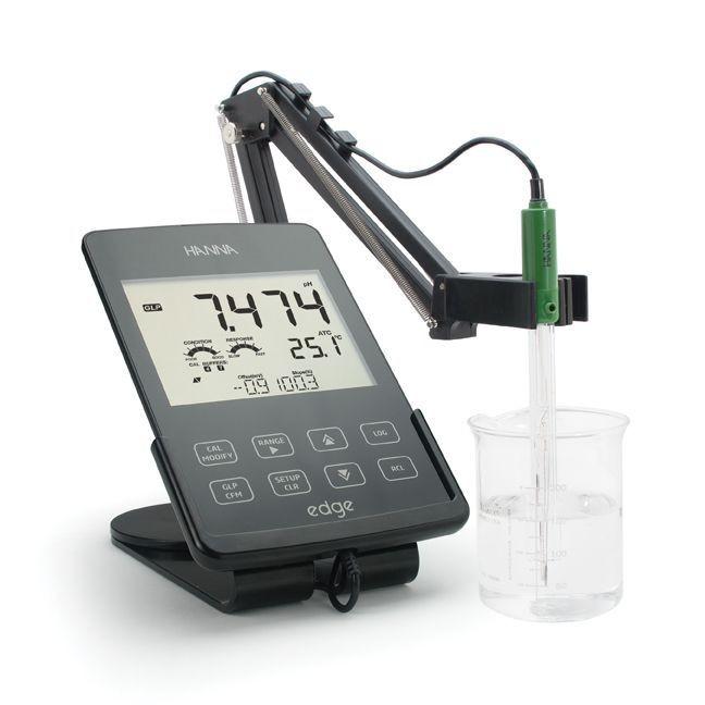 Medidor de pH de sobremesa  EDGE Kit pH HI2020-02
