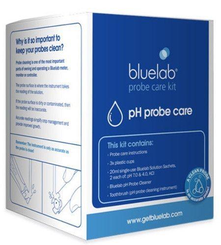 Kit de calibracion y limpieza para electrodo de pH Bluelab