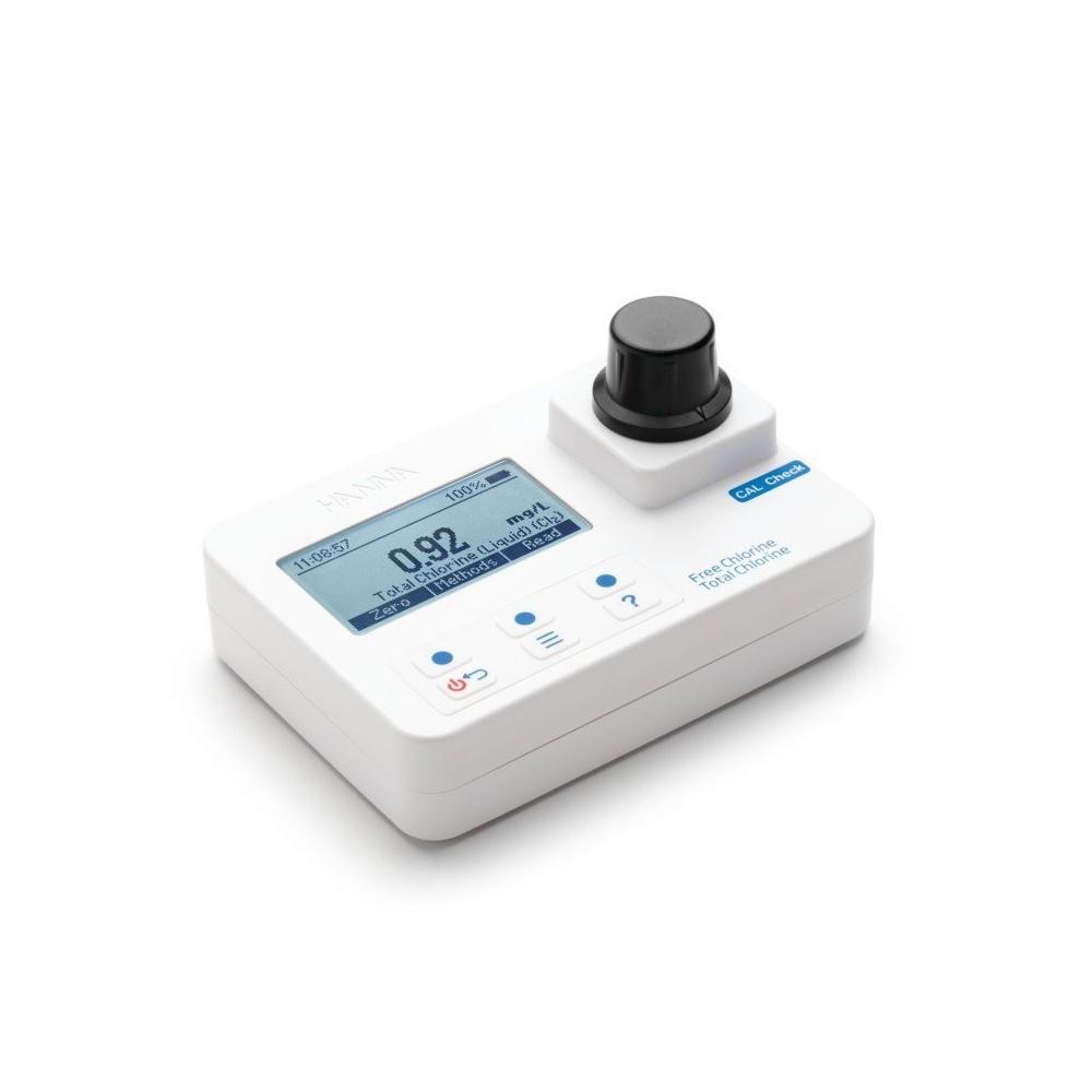 Medidor de cloro libre y total HANNA HI97711