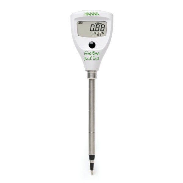 Medidor de EC y temperatura directa en suelo HI 98331 de HANNA®