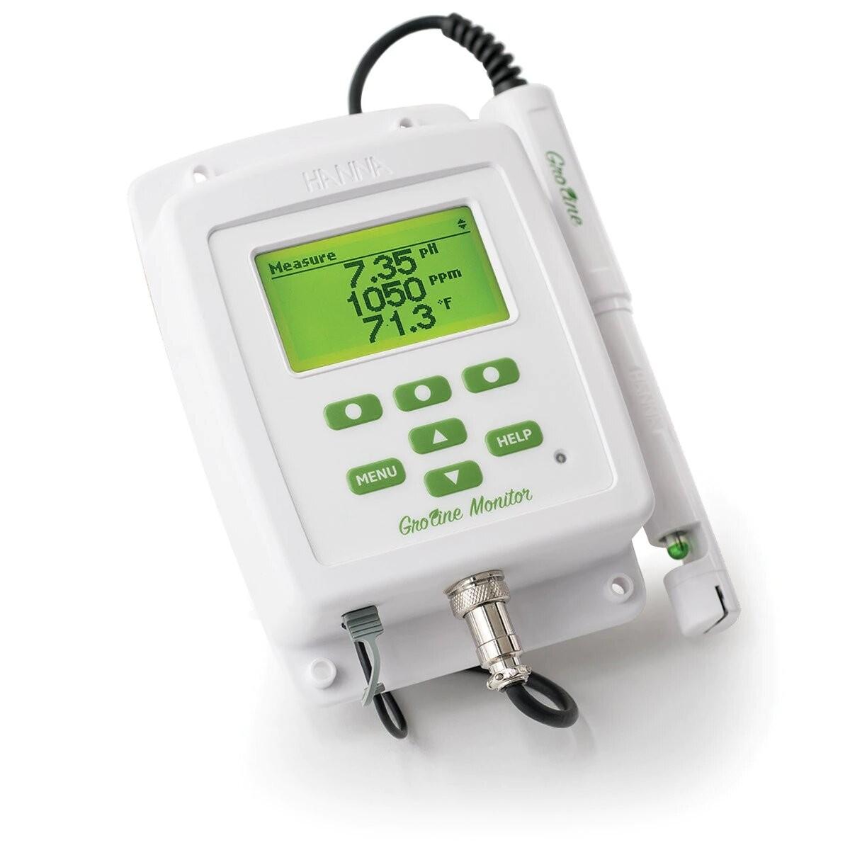 Medidor de pH y conductividad para hidroponia HI981420