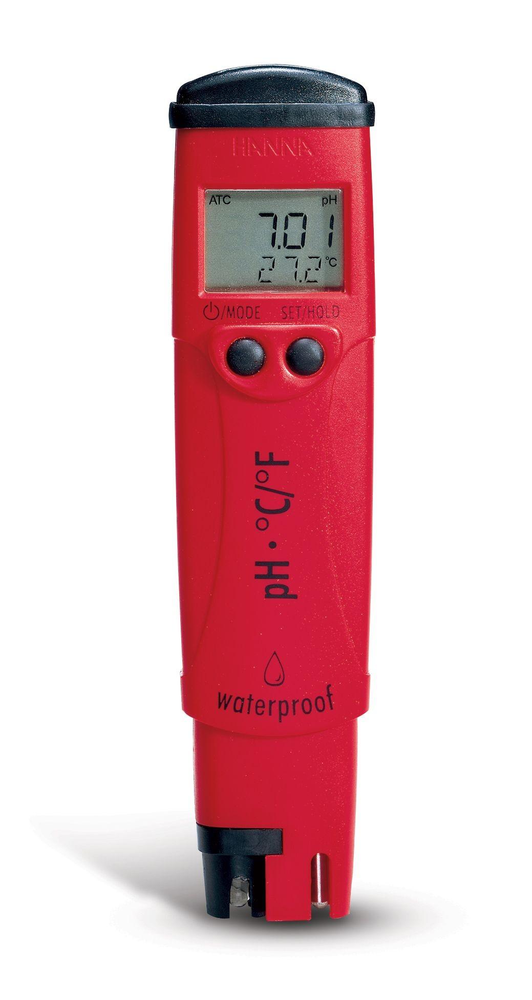 Medidor de pH y temperatura pHep 4 (HI 98127) Waterproof