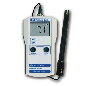 Medidor de pH portatil Milwaukee MW100