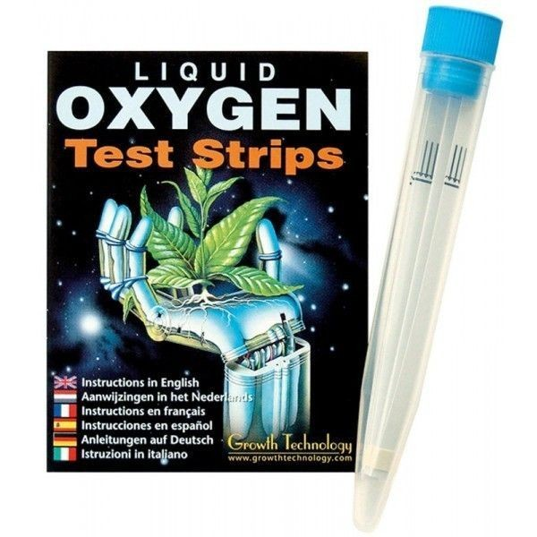 Test de Oxigeno en Agua