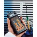 Medidor de pH /MV / Temperatura portatil con salida registrador HI 8915