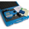 Kit maletín Fotómetro medidor de Ácido cianúrico, Cloro libre y total, y pH, HI 96104C