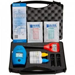 Medidor de cloro y pH en maletin (Checker HI 701 y Checker HI98103 de HANNA)