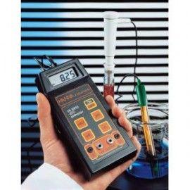 PHMETRO /MV / TEMPERATURA PORTATIL CON SALIDA A REGISTRADOR HI 8915