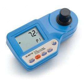 Medidor de cloro libre, cloro total y pH HI 96710