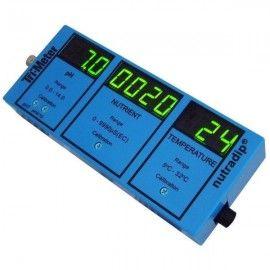 Monitor Trimeter Nutradip medidor pH, EC y temperatura