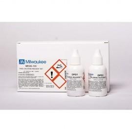 Reactivos para medidor de cloro libre Milwaukee
