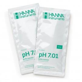 Sobre de líquido calibrador pH 7.01