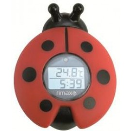 Termómetro de baño - Rimax RB321 en forma de mariquita