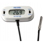 Termómetro  CHECKFRIDGE con dorso magnético y sonda termisor 1m de cable, HI 147-00