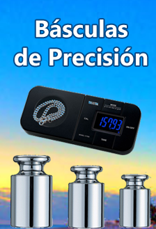 Básculas de precisión